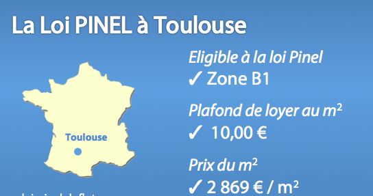 dispositif Pinel à Toulouse