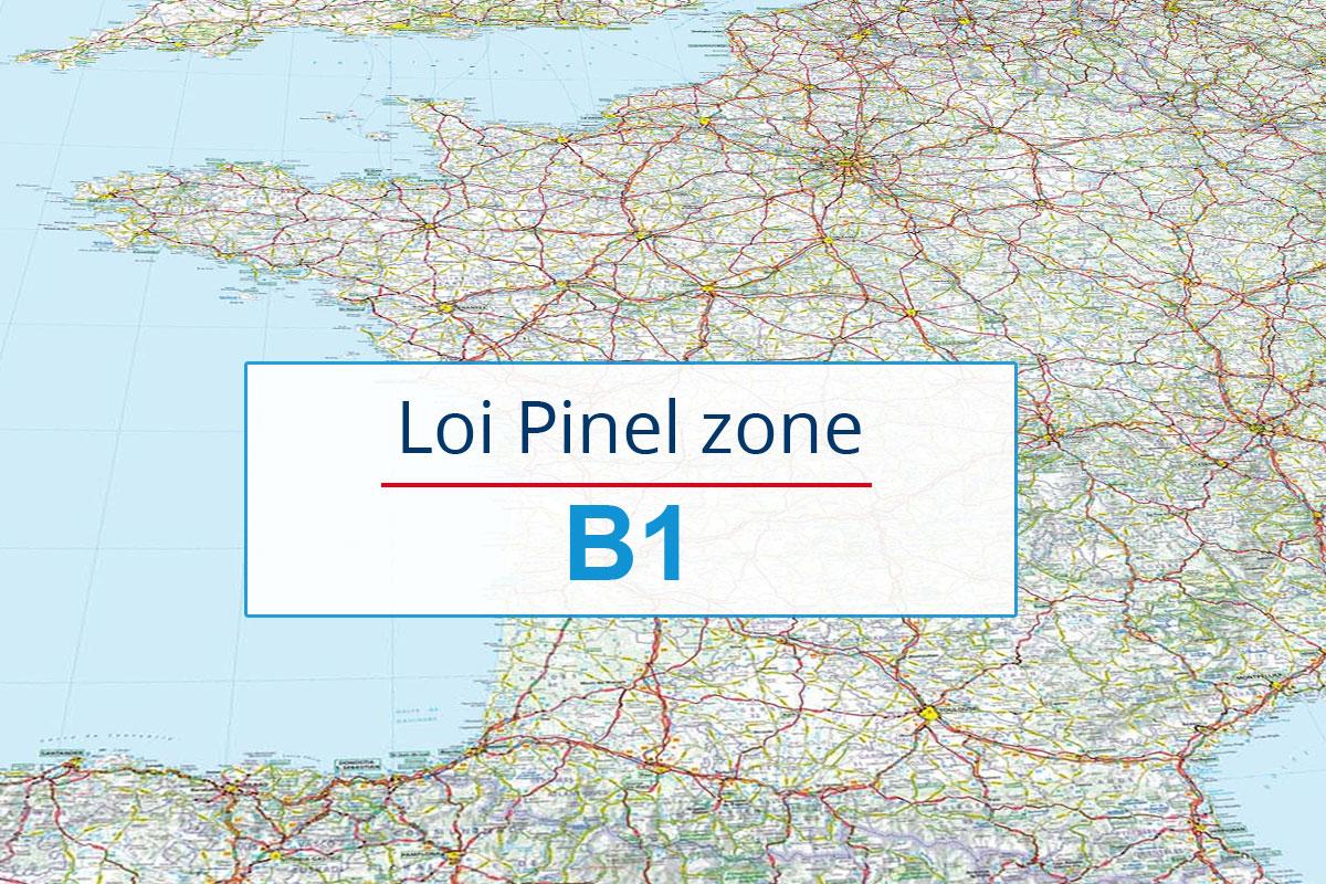 Zone B1 Pinel